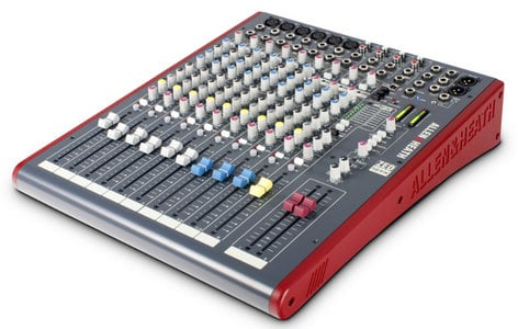 Allen & Heath ZED-12FX 12 Channel Mixing Console with Built-In FX, 6 Mic Preamps ZED-12FX