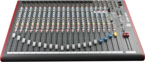 Allen & Heath ZED-22FX 22 Channel Mixing Console (16 mono + 3 stereo) with Built-In FX and USB I/O, 16 Mic Preamps ZED-22FX