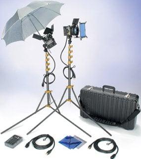 Lowel Light Mfg GO-92LBZ GO Pro-Visions Kit (with Soft Case) GO-92LBZ