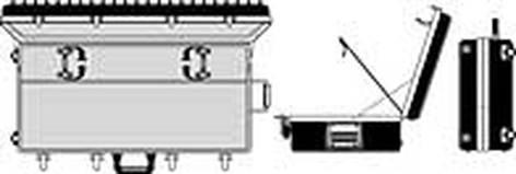 Lowel Light Mfg LC9568 Rifa Big Triple Soft Light Kit LC9568