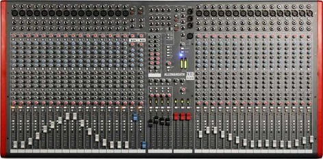 Allen & Heath ZED-436 Mixing Console with USB Port, 32 Mic/Line Inputs, 2 Stereo Line Inputs, 4 Bus, SONAR LE Software ZED-436