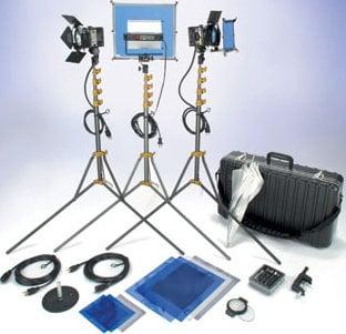 Lowel Light Mfg VP-98ULBZ Go Intro Kit (with Soft Case) VP-98ULBZ