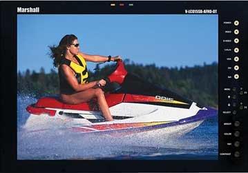 "Marshall Electronics V-LCD15SB-AFHD-DT  15"" SunBrite HD LCD Monitor V-LCD15SB-AFHD-DT"