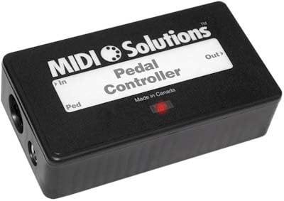 MIDI Solutions PEDAL-CONTROLLER Continuous MIDI Data Generator  PEDAL-CONTROLLER