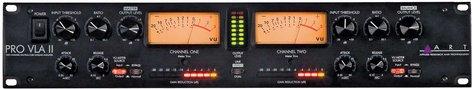 ART PRO-VLA-II  Dual Channel Vactrol®/Tube Leveling Amplifier PRO-VLA-II