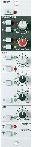 Solid State Logic XRACK-VHD-INPUT VHD Duality Mic Amp Module XRACK-VHD-INPUT