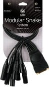 Planet Waves PW-XLRMB-01 Modular Snake Cable (8 Channel XLR Male to DB25 Breakout Connector) PW-XLRMB-01