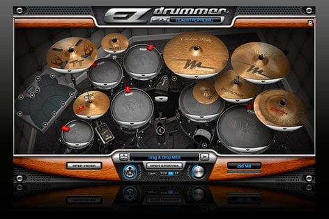Toontrack CLAUSTROPHOBIC EZX Drum Expansion for EZdrummer/Superior Drummer (Electronic Delivery) CLAUSTROPHOBIC