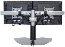 Chief Manufacturing KTP220B Dual Monitor Horizontal Table Stand (Black) KTP220B
