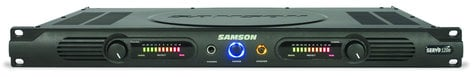 Samson Servo 120a Stereo Power Amplifier, 60 Watts Per Channel at 4 Ohms SERVO120A
