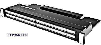 Switchcraft TTP96K3HN  Jack Panel, Half  Normaled  TTP96K3HN