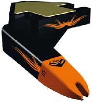 Ortofon Inc STYLUS-NIGHTCLUBII Replacement Stylus for Nightclub MKII Cartridge STYLUS-NIGHTCLUBII