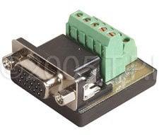 TecNec HD15F-TBCM Female HD15 To Screw Terminals  HD15F-TBCM
