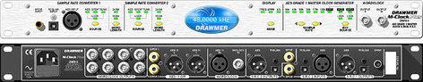 Drawmer M-CLOCK-PLUS Master Clock, Dual Sample Rate Converter, 10 Clock Out, 2 SRCs, AES Grade 1 M-CLOCK-PLUS
