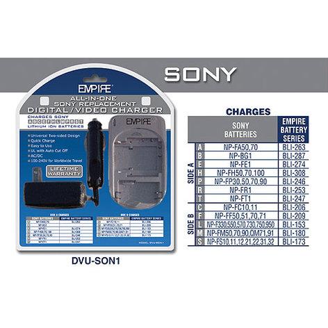 Empire Scientific DVU-SON1 Universal Charger for Sony Batteries DVU-SON1