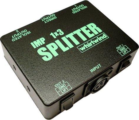 Whirlwind SP1X3LL 1/3 Line Level Splitter SP1X3LL