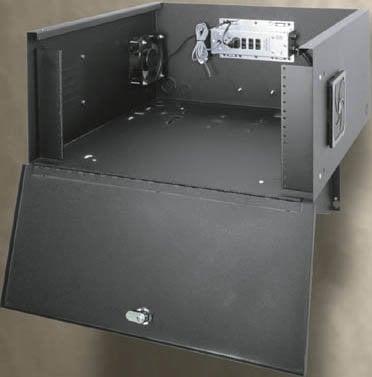 Middle Atlantic Products DLBX DVR Wall-Mounting Lock Box DLBX