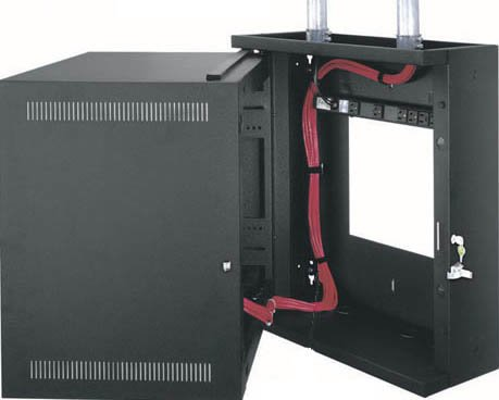 """Middle Atlantic Products EWR-10-22 10-Space, 22"""" Deep EWR Series Sectional Wall Rack EWR10-22"""