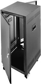 Middle Atlantic Products PTRK-14 14-Space Portable Rack with Casters PTRK-14