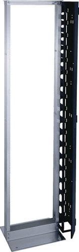 Middle Atlantic Products RLA19-1245B 45-Space Open-Frame Aluminum Relay Rack (Black) RLA19-1245B