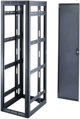Middle Atlantic Products WRK-24-32 24-Space Gangable Rack Enclosure (Black) WRK-24-32