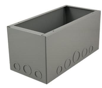 """Mystery Electronics BB2000D FMCA2000 Series Floor-Mount Back Box (6"""" Extra Depth) BB2000D"""