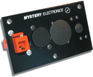 Mystery Electronics HFPK Screw-Mount Rigid Plastic Hole Plug for XLR Position HFPK