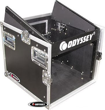 Odyssey FZ1008 ATA Combo Rack (10-Space Slanted, 8-Space Vertical) FZ1008