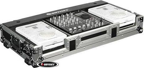 Odyssey FZ12CDIW CD DJ Coffin (with Wheels) FZ12CDIW