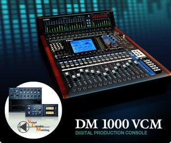 Yamaha DM1000VCM Compact Digital Console DM1000VCM
