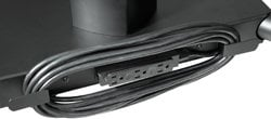 Peerless ACC320  Electrical Outlet Strip (with Cord Wrap) for SR Flat Panel Cart Series ACC320