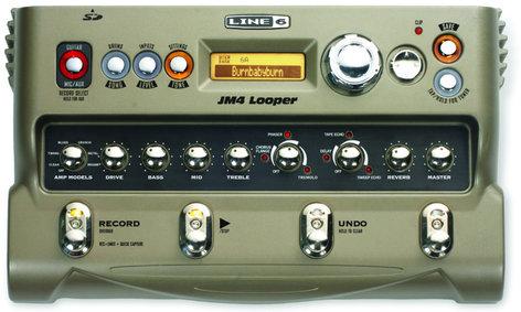 Line 6 JM4 Looper Stompbox Modeler JM4-LOOPER