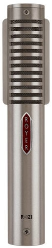 Royer Labs R121-LIVE Mono Ribbon Microphone (in Dull Nickel Finish) R121-LIVE