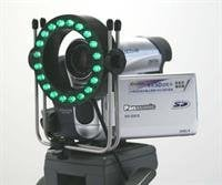 Reflecmedia RM4511  8x8 Material with Green Microlite Assembly RM4511