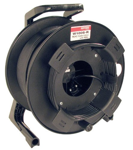 Roland System Group W100SR 100 Meters of REAC Premium Cat5e Cable with Locking Reel W100SR