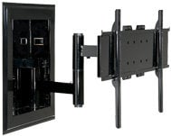 "Peerless IM760PU Universal In-Wall Articulating Arm Mount (for 32-60"" Flatscreens, Black) IM760PU"