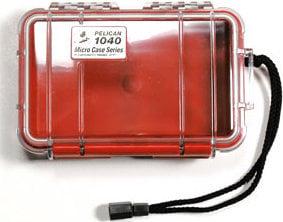 Pelican Cases PC1040-CLR-BLK Clear Micro Case with Black Liner PC1040-CLR-BLK