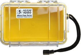 Pelican Cases 1050 Solid Yellow Micro Case PC1050SY