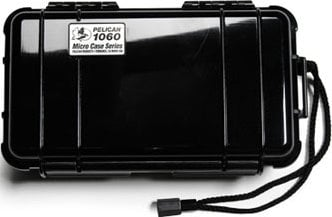 Pelican Cases 1060 Clear Micro Case with Black Liner PC1060-CLR-BLK