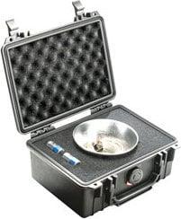 Pelican Cases PC1150-SILVER Small Silver Case PC1150-SILVER