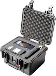 Pelican Cases PC1300NF-BLACK Small Black Case WITHOUT Foam PC1300NF-BLACK