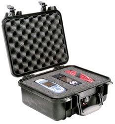 Pelican Cases PC1400-SILVER Small Silver Case PC1400-SILVER