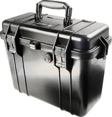 Pelican Cases 1434 Black Top Loader Case with Padded Dividers & Lid Organizer PC1434-BLACK