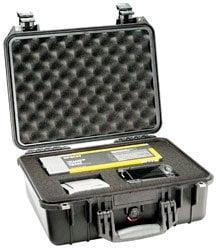 Pelican Cases PC1454-BLACK Medium Black Case with Padded Dividers PC1454-BLACK