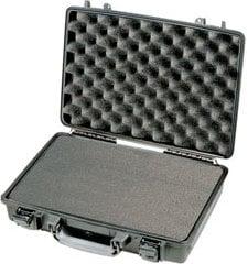 Pelican Cases PC1470-BLACK Black Laptop Case with Foam Interior PC1470-BLACK