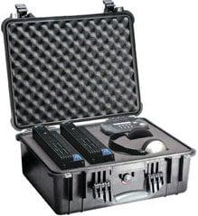 Pelican Cases 1550 Medium Silver Case with Foam Interior PC1550-SILVER