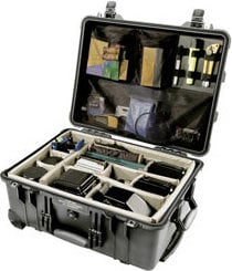 Pelican Cases 1564 Large Black Case with Padded Dividers PC1564