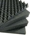Pelican Cases 1551 4-Piece Replacement Foam Set for 1550 Medium Case PC1551