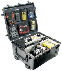 Pelican Cases PC1694 Large Transport Case with Padded Dividers & Wheels PC1694