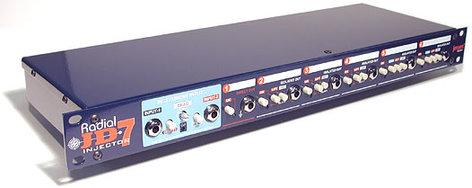 Radial Engineering JD7 Guitar Signal Distribution Amplifier JD7